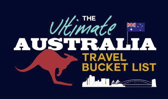 The Ultimate Australia travel bucket list