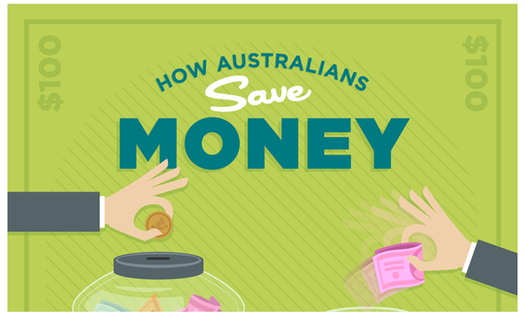 How Australians Save Money
