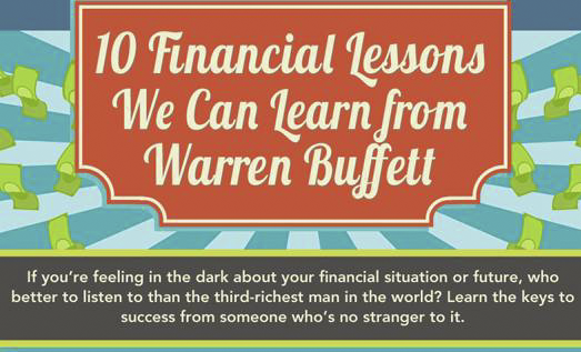 10 Financial Lessons we can learn from Warren Buffet