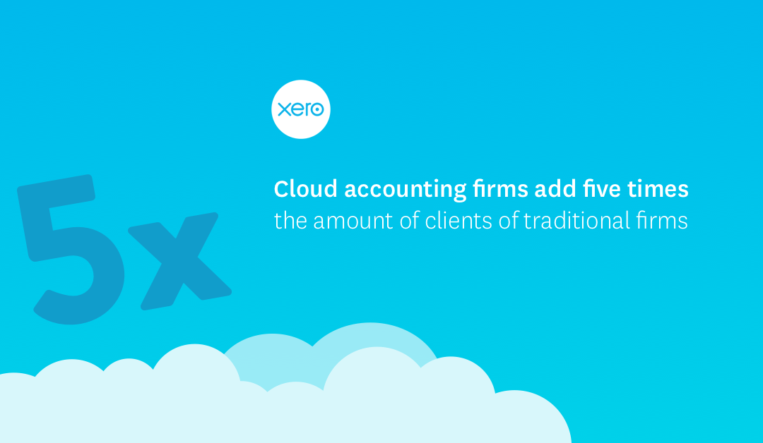 Cloud-based accounting firms add five times the amount of clients of traditional firms