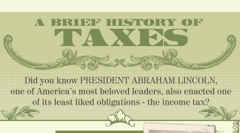A Brief History of Taxes