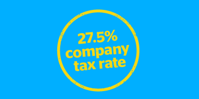 Eligibility changes for lower company tax rate
